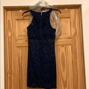 Trixxi Navy Blue Cocktail or Dance Dress